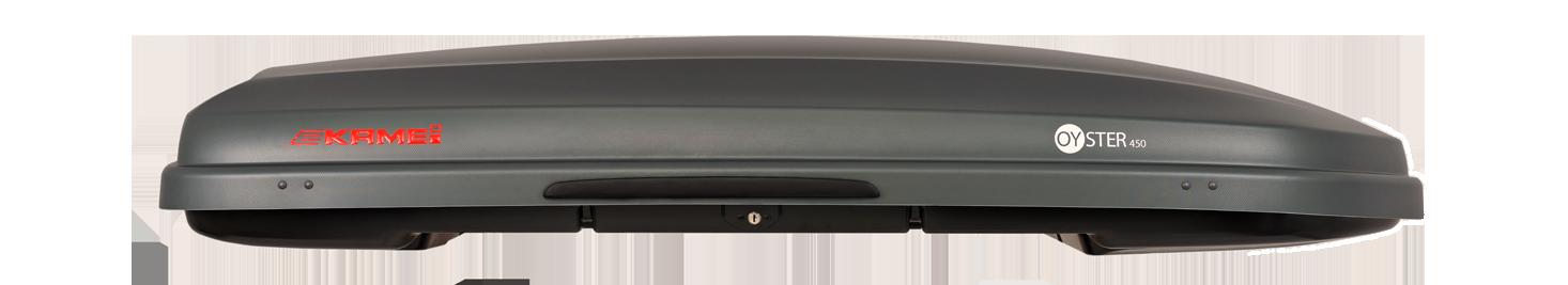 081392 25 Oyster šedá uhlíková střešní box 450l Kamei